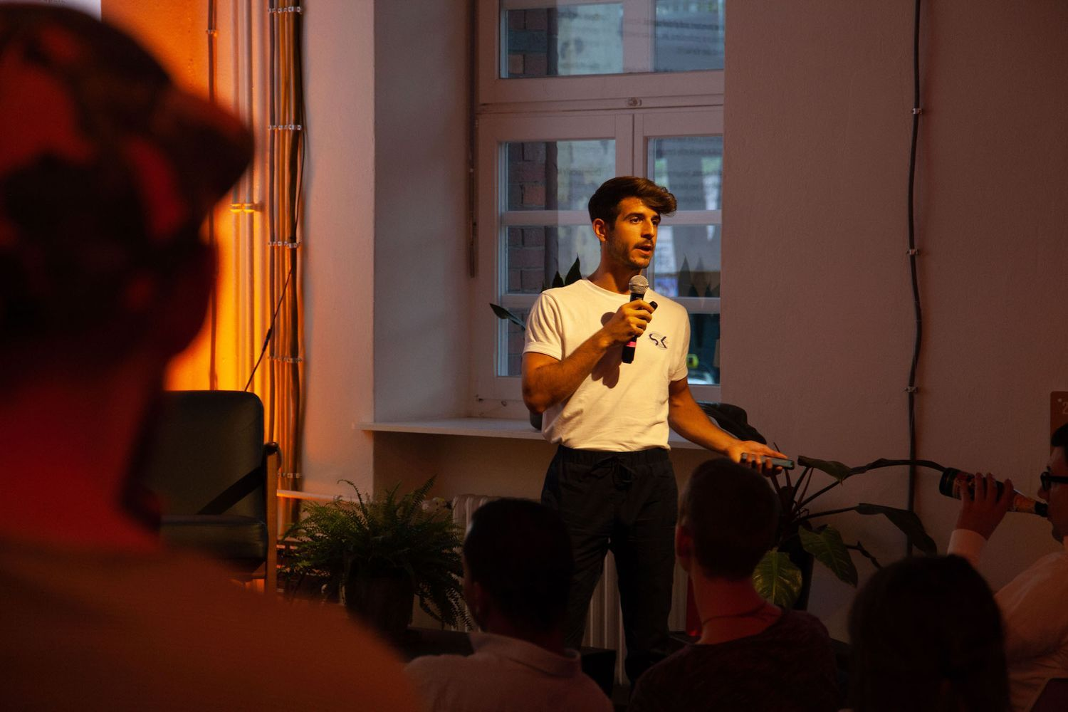 Alexander Molé, Head of Strategic Partnerships at Neufund at Fintech 4 Impact Meetup