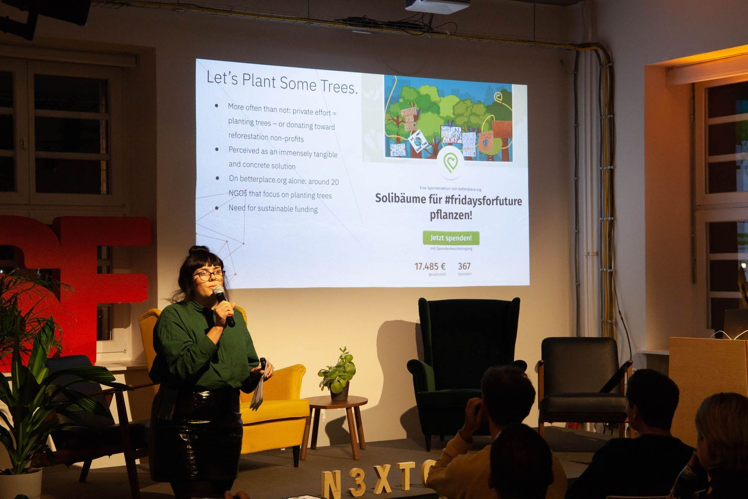 Betterplace speaking at Gamification 4 Social Innovation meetup by N3XTCODER