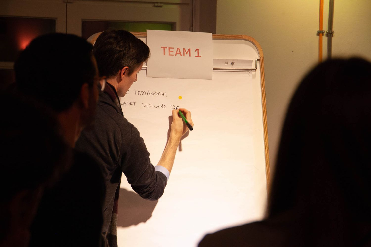 Team work at Gamification 4 Social Innovation meetup by N3XTCODER